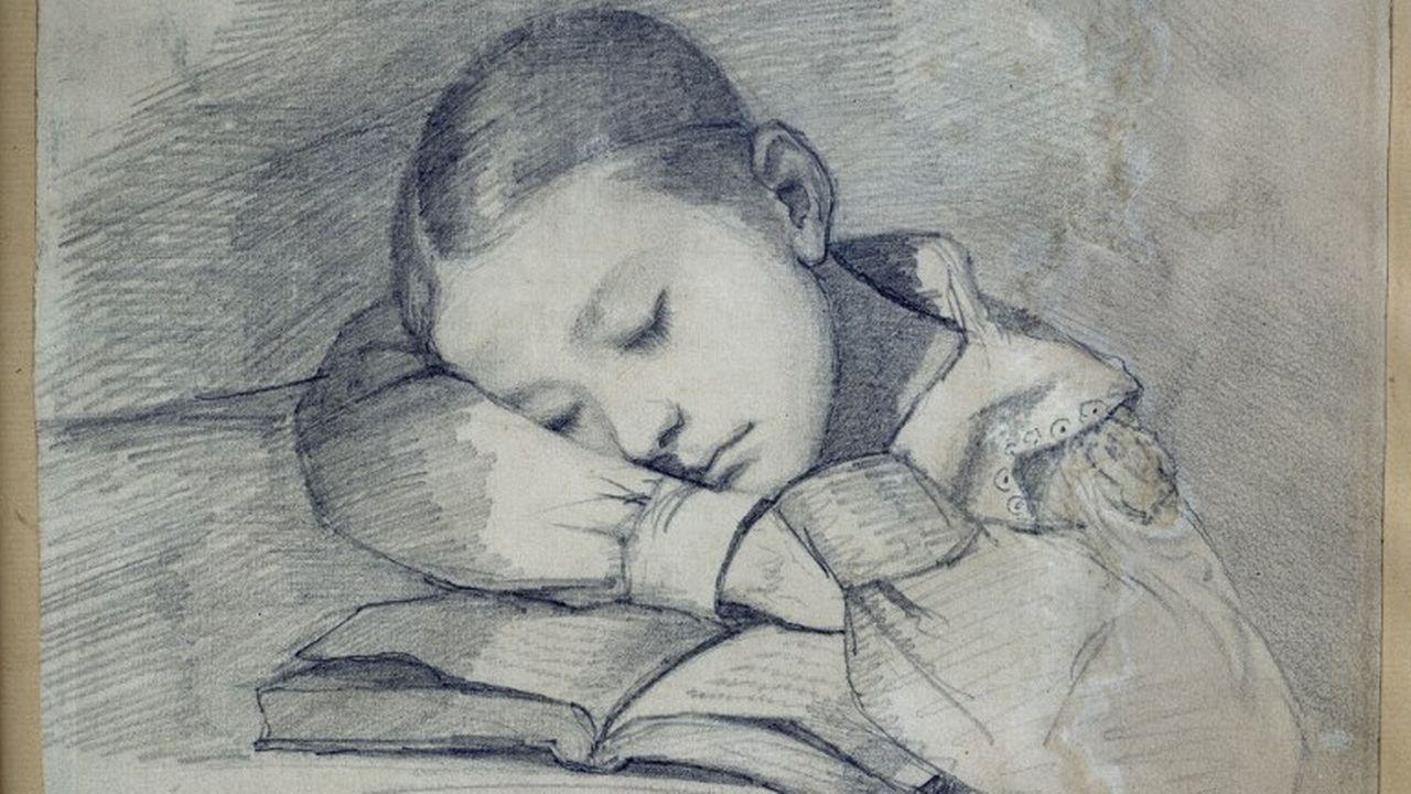 Les dessins de Gustave Courbet exposés à Ornans en France. [Josse  - Leemage/ AFP]
