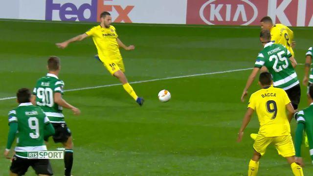 1-16e aller, Sporting - Villarreal (0-1): Villarreal s'impose à Lisbonne grâce à un but à la 3ème minute [RTS]