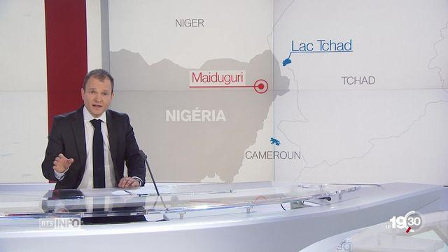 """""""De très nombreuses personnes vivent dans l'extrême pauvreté au Nigeria"""", rapporte Tristan Dessert, de retour d'Afrique. [RTS]"""