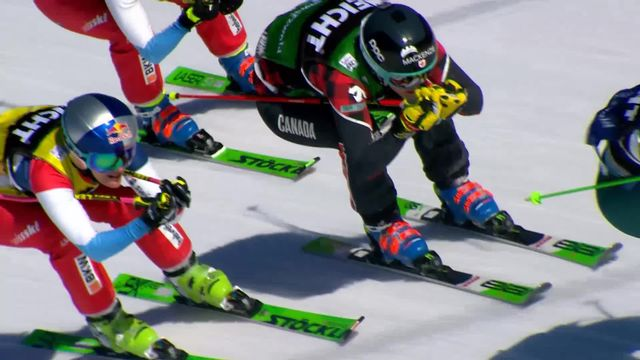 Feldberg (GER), Skicross, petite finale dames: les Suissesses 3e et 4e [RTS]