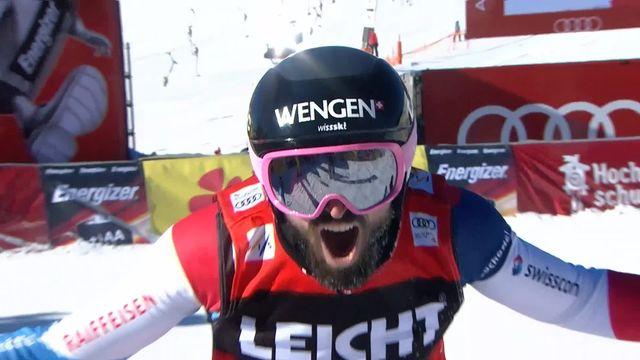 Feldberg (GER), Skicross, finale messieurs: Regez (SUI) s'impose, Fiva (SUI) troisième [RTS]