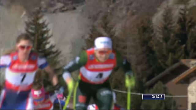 Cogne (ITA), sprint dames: la victoire pour Diggins (USA) devant Ringwald (ALL) et Hagstroem (SUE) [RTS]