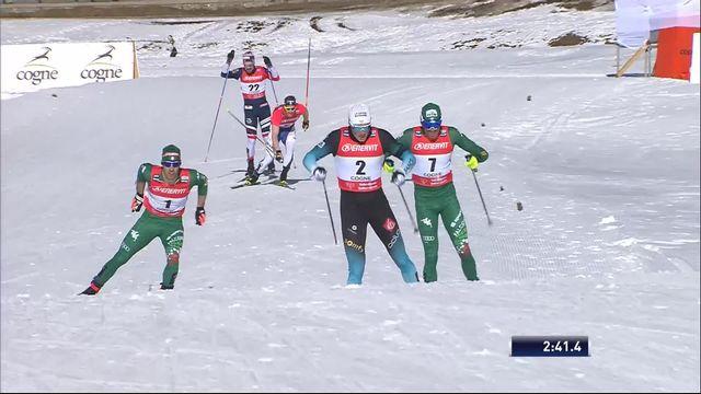 Cogne (ITA), sprint messieurs: Pellegrino (ITA) gagne à domicile [RTS]