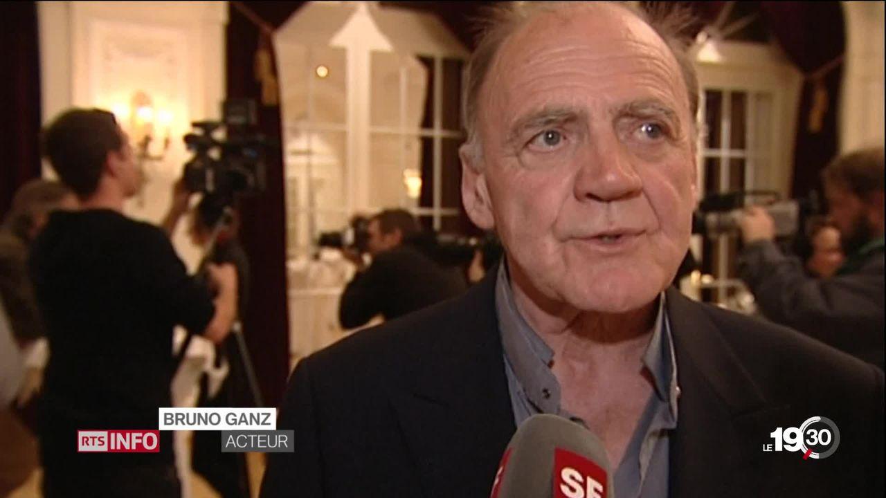 L'acteur suisse Bruno Ganz est mort à 77 ans. [RTS]