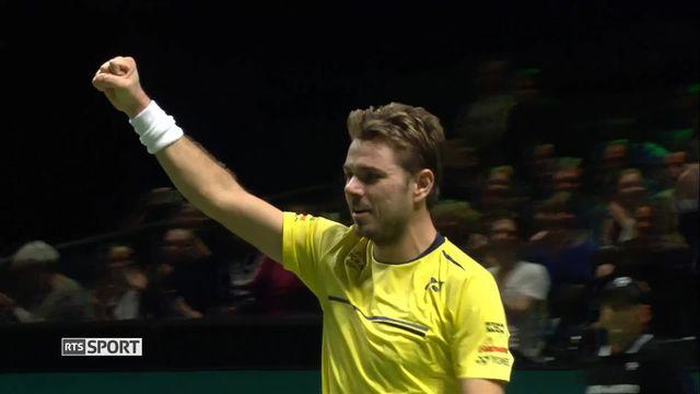 Tennis, Rotterdam: Wawrinka bat Nishikori et va en finale [RTS]
