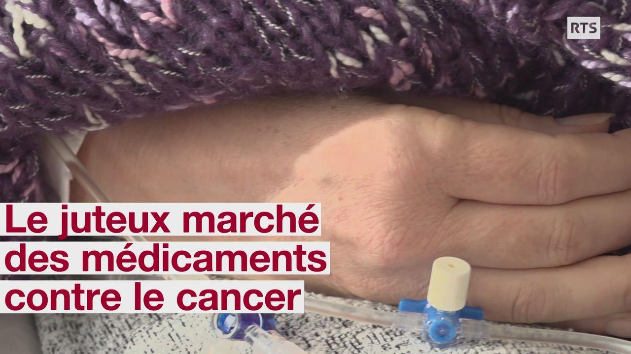 Le juteux marche des medicaments contre le cancer [RTS]