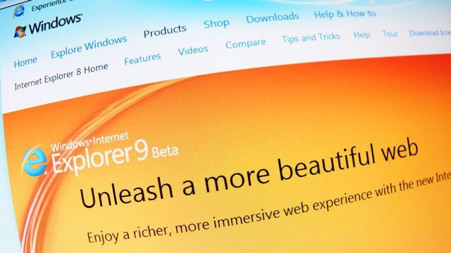 Internet Explorer est obsolète, même Microsoft déconseille son utilisation. [lucianmilasan - Depositphotos]