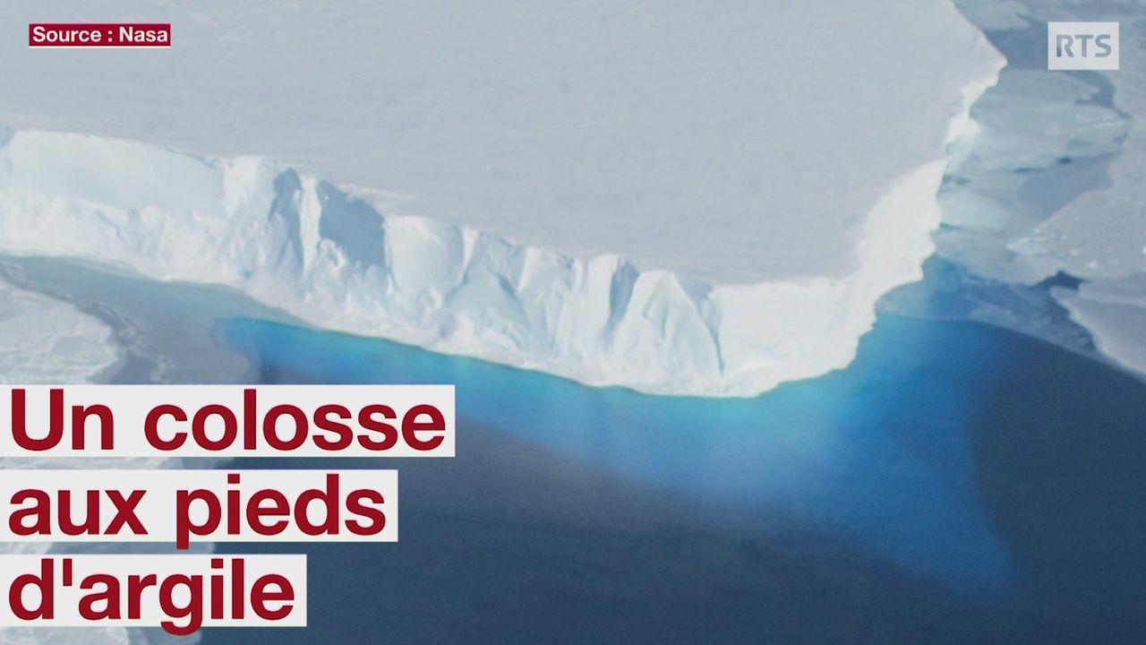 Antarctique: un colosse aux pieds d'argile [RTS]