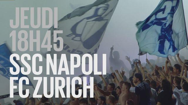 Bande-annonce: Football UEFA Europa League  Napoli - Zurich du 21.02.2019 [RTS]
