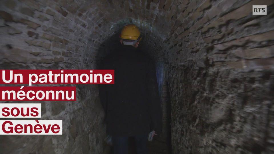 Un patrimoine historique sous les murs de Genève [RTS]