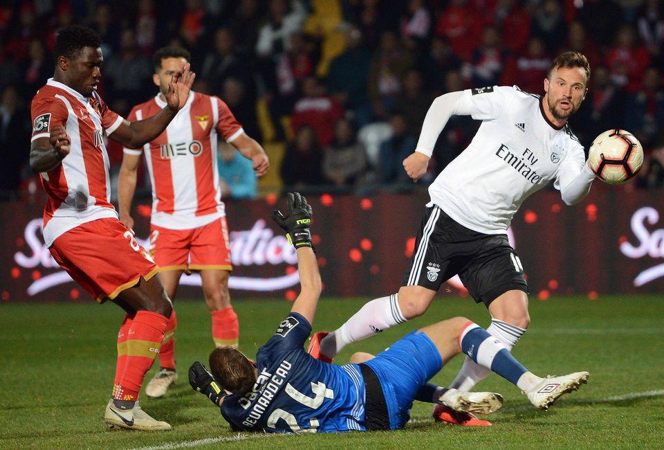 Seferovic a ouvert le score dès la 3e minute contre Aves. [Octavio Passos - Keystone]