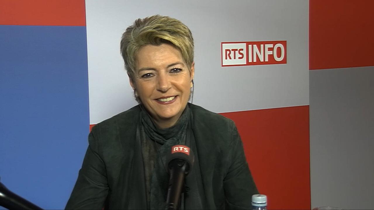 L'invitée de La Matinale (vidéo) - Karin Keller-Sutter, cheffe du Département fédéral de justice et police