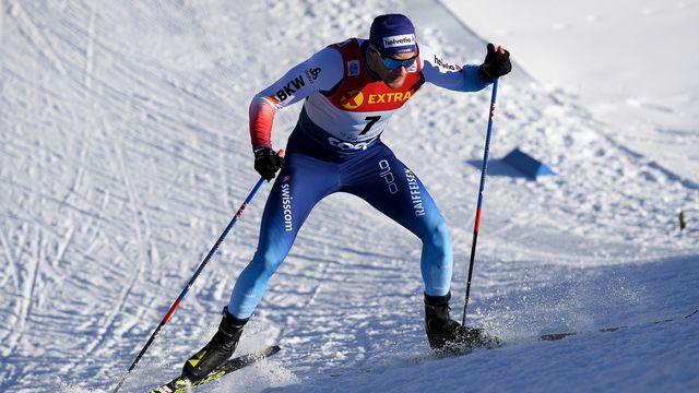 Dario Cologna croit en ses chances de médaille à Seefeld. [Gian Ehrenzeller - Keystone]