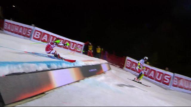 Stockholm (SUE), slalom parallèle messieurs: Zenhäusern (SUI) élimine Hirscher en 1-4 [RTS]