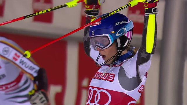 Stockholm (SUE), slalom parallèle dames: Shiffrin (USA) s'impose devant Geiger (ALL) [RTS]