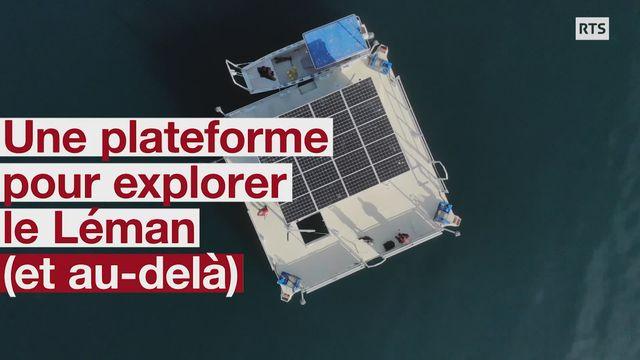 LéXPLORE, une plateforme pour explorer le lac Léman [RTS]