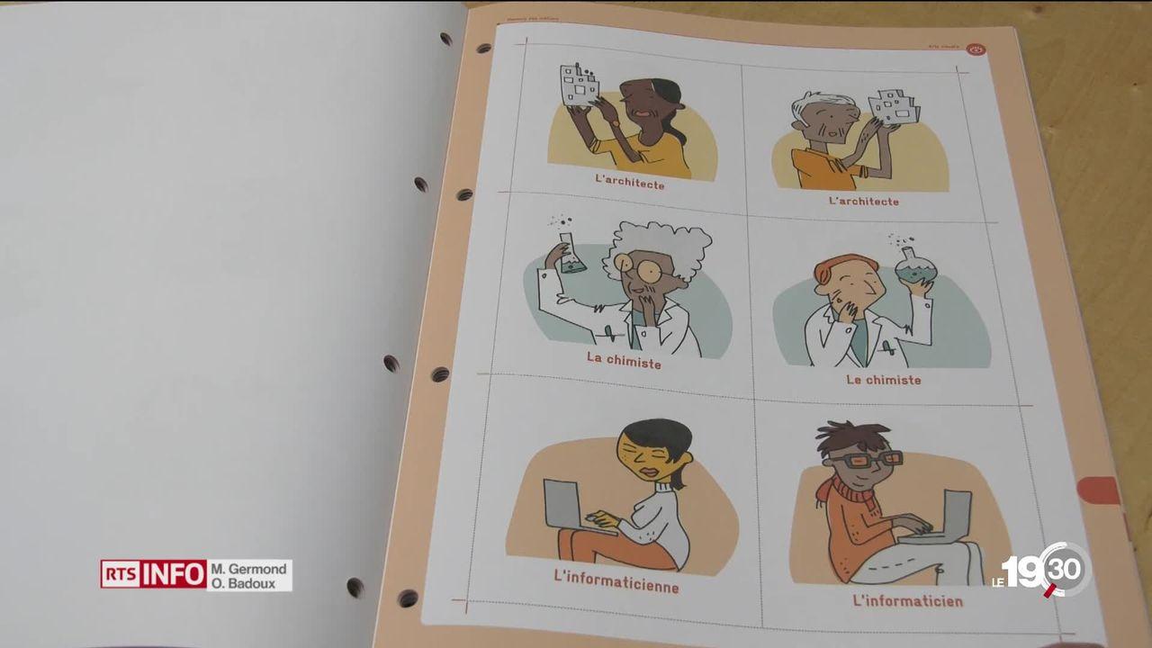Une brochure veut sensibiliser les enseignants à l'égalité des genres. Son but: casser les clichés. [RTS]