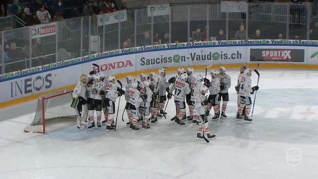 National League, 28e journée: Lausanne - Lugano (0-7) (Grand format) [RTS]