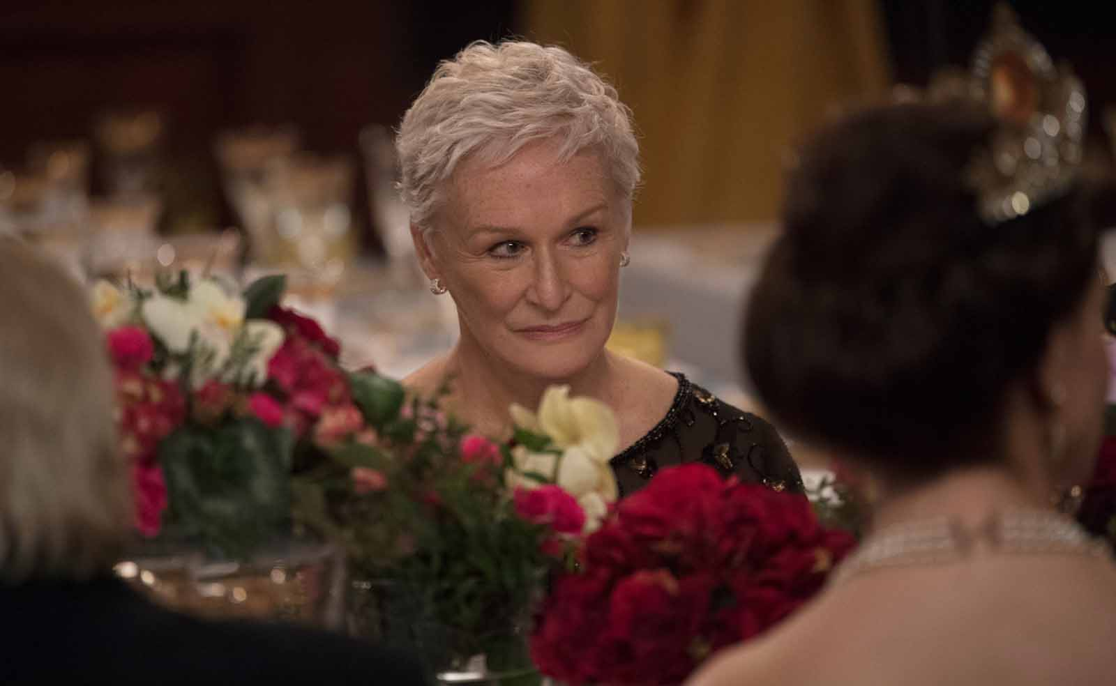 "Glenn Close dans ""The Wife""."