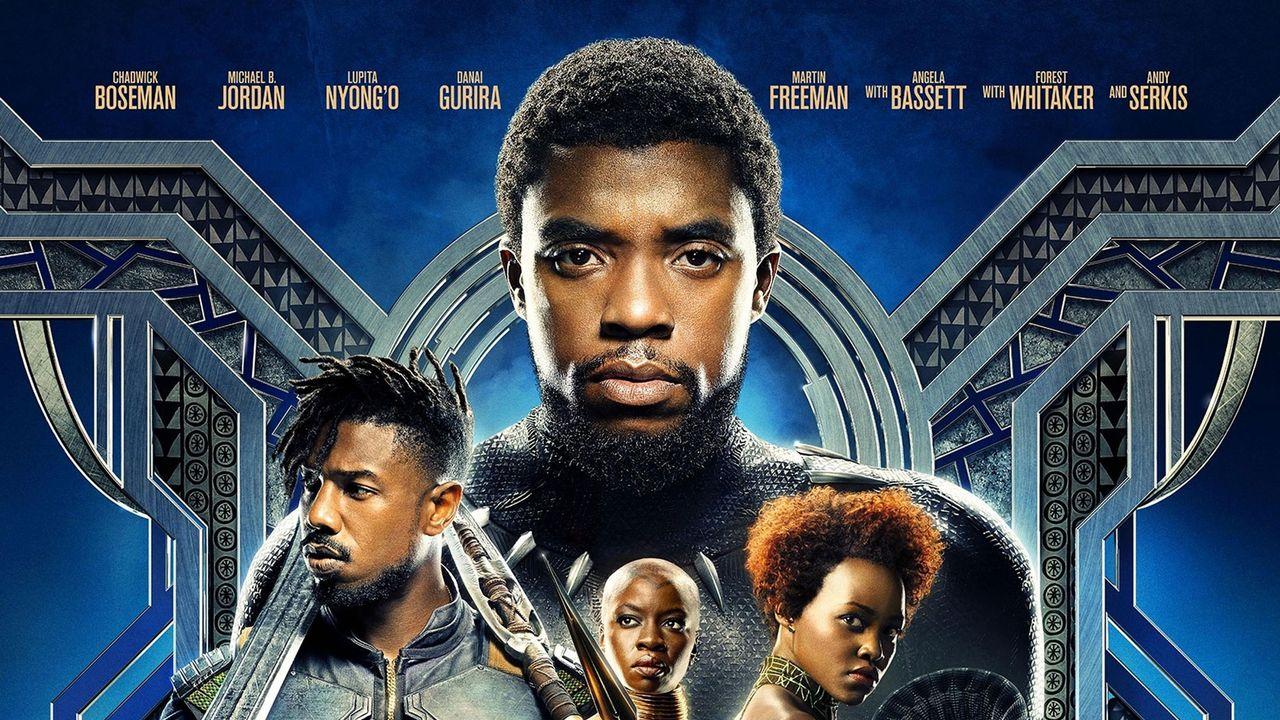 """L'affiche du film """"Black Panther"""". [AFP]"""