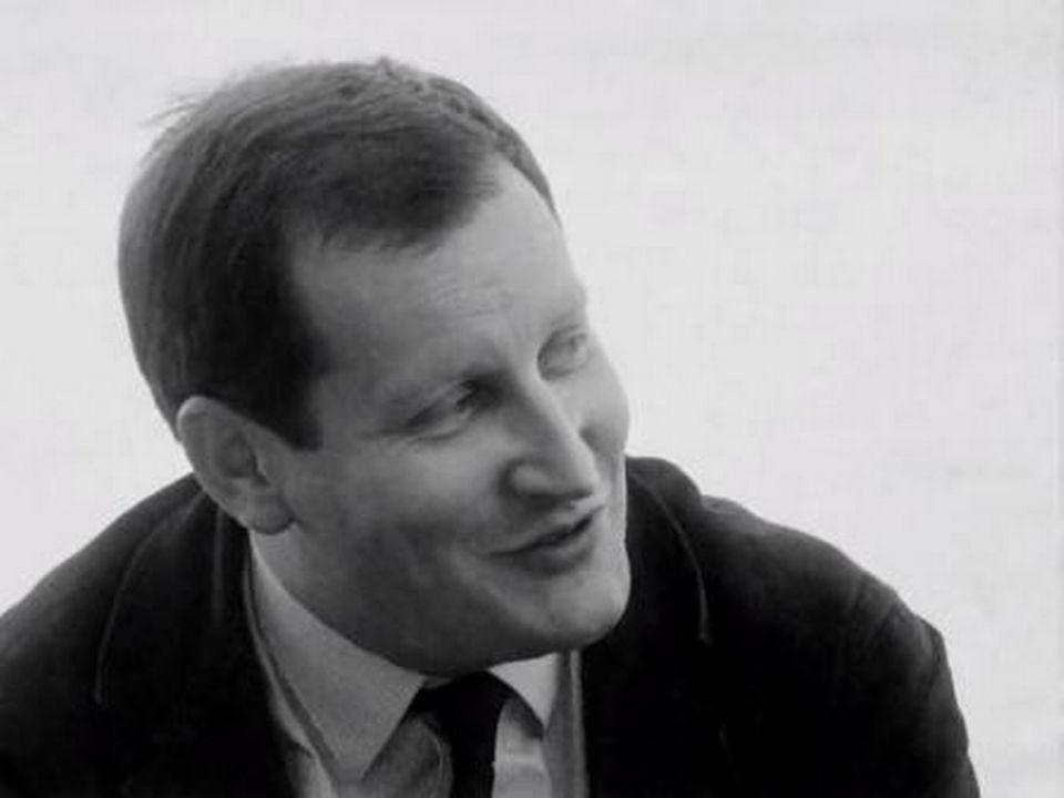 Le cinéaste Claude Goretta en 1964. [RTS]