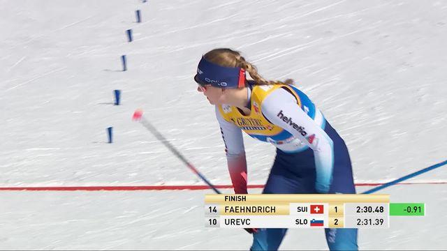 Mondiaux de Seefeld, sprint dames: Faehndrich (2e) et van der Graaff (21e) passent en quarts [RTS]