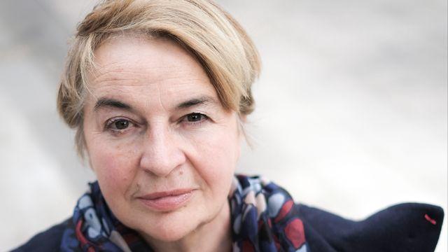 La journaliste et théologienne Christine Pedotti. [© Christian Adnin ]