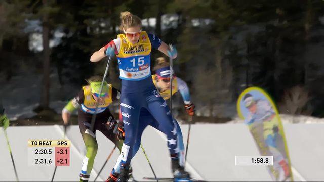 Mondiaux de Seefeld, sprint dames : élimination de Vander der Graaff en quarts de finale [RTS]