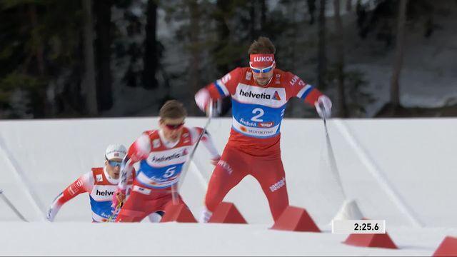 Mondiaux de Seefeld, sprint messieurs : élimination de Schaad en quarts de finale [RTS]