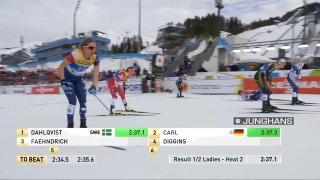 Championnat du monde Ski de fond: Faehdrich (SUI) rate la finale de justesse [RTS]