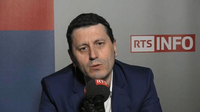 Frédéric Martel. [RTS]