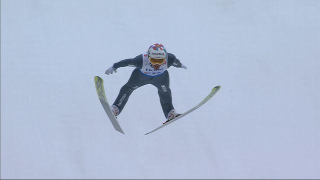 Mondiaux de Seefeld, qualifs saut à ski HS 130 messieurs: manche finale pour Killian Peier (SUI) [RTS]