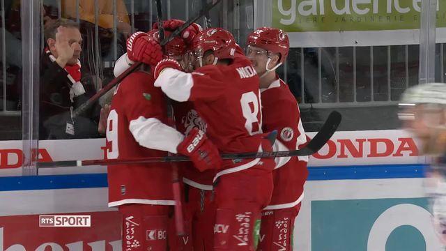 National League, 45e journée: Lausanne - Zoug (5-2) [RTS]