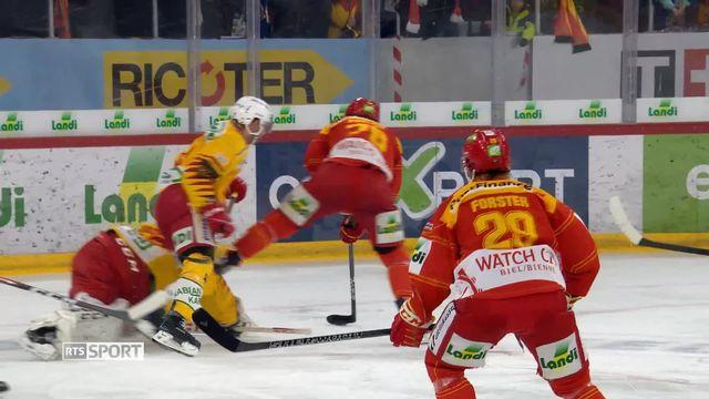 National League, 45e journée: Bienne - Langnau (4-3 tb) [RTS]