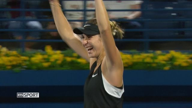 Tennis, Belinda Bencic bat Elina Svitolina (UKR ) 6-2, 3-6, 7-6 et affrontera Petra Kvitova (CZE) en finale [RTS]
