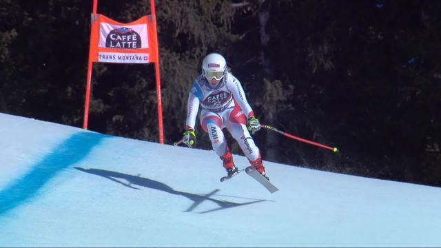 Crans-Montana (SUI), descente dames: Joana Hählen (SUI) [RTS]