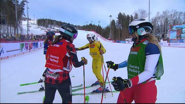 Sunny Valley (RUS), petite finale dames: Sanna Lüdi deuxième de la petite finale [RTS]