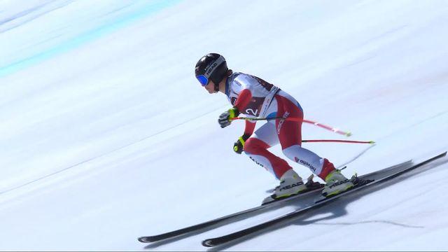 Crans-Montana (SUI), descente dames: Lara Gut-Behrami (SUI) [RTS]