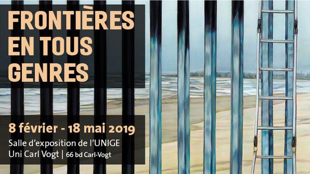 L'exposition Frontières en tous genres a lieu à l'Université de Genève. [UNIGE]