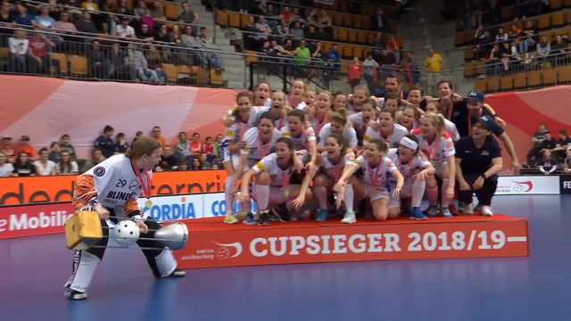 Coupe de Suisse, finale dames, Piranha Chur – UHC Dietlikon Jets (2-4): les highlights du match [RTS]