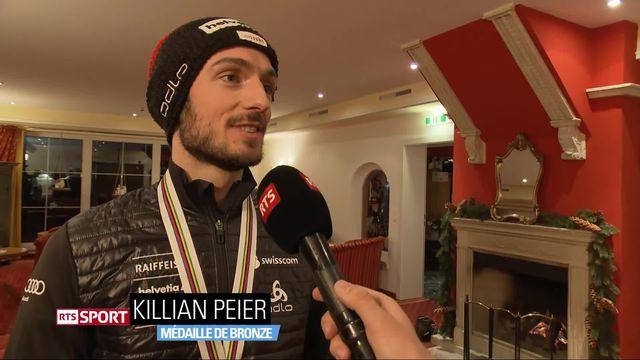 Saut à ski: présentation et interview de Kilian Peier, médaillé de bronze [RTS]