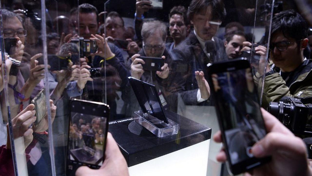 Le Mobile World Congress a lieu à Barcelone. [Josep Lago - AFP]