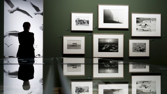 L'exposition de la photographe Martine Franck au Musée de l'Elysée à Lausanne. [Laurent Gillieron - Keystone]