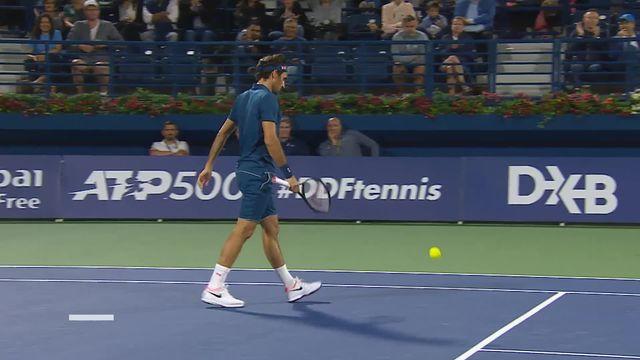 ATP Dubai, 1-16e, R.Federer (SUI) - P.Kohlschreiber (ALL) (6-4): Federer remporte le premier set [RTS]
