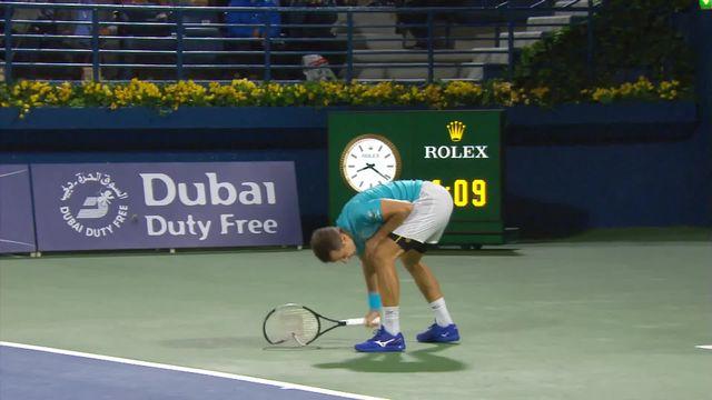 ATP Dubai, 1-16e, R.Federer (SUI) - P.Kohlschreiber (ALL) (6-4):  Kohlschreiber remporte le second set [RTS]