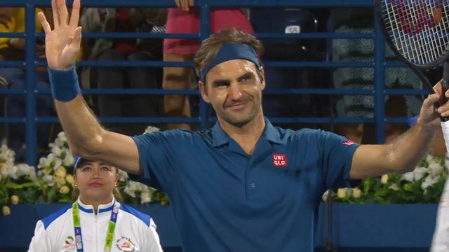 ATP Dubai, 1-16e, R.Federer (SUI) - P.Kohlschreiber (ALL) (6-4, 3-6, 6-1): Roger Federer passe en 1-4 [RTS]
