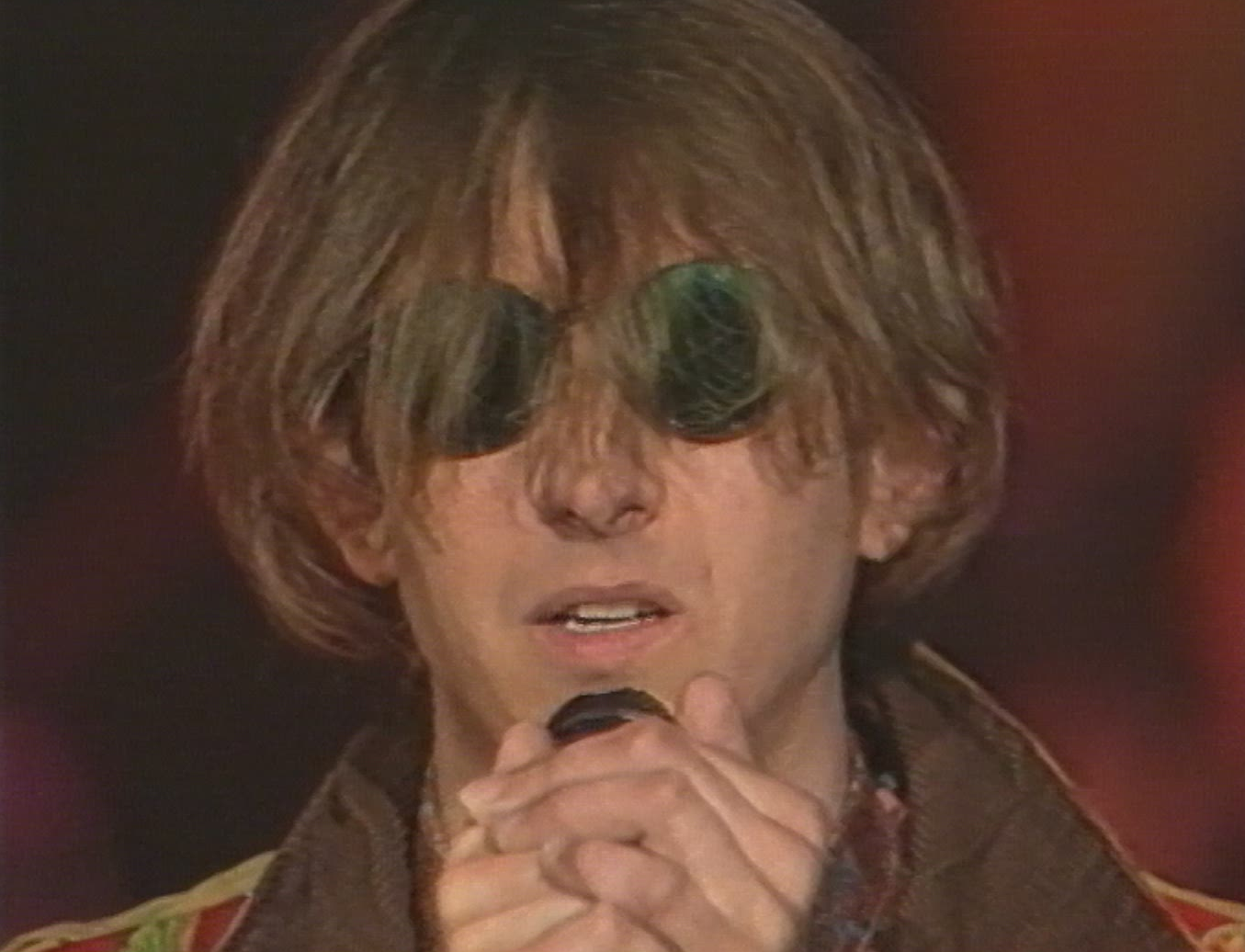 Mark Hollis du groupe Talk Talk en 1985 à Montreux.