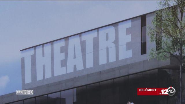 Le Jura aura son théâtre [RTS]