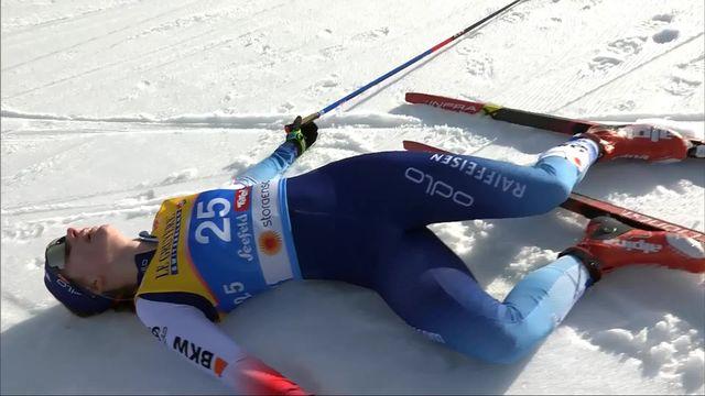 Seefeld (AUT), 10km dames: 5e place pour Nadine Faehndrich (SUI) [RTS]