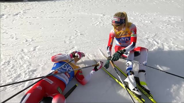 Seefeld (AUT), 10km dames: victoire de Therese Johaug (NOR) [RTS]